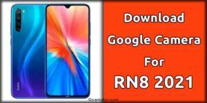 gcam for redmi note 8 2021 edition